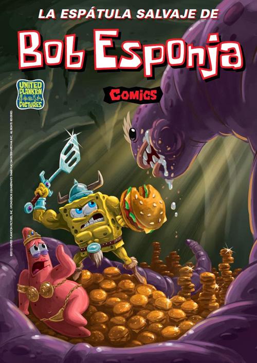 Bob Esponja Cómics nº 7. La espátula salvaje de Bob Esponja
