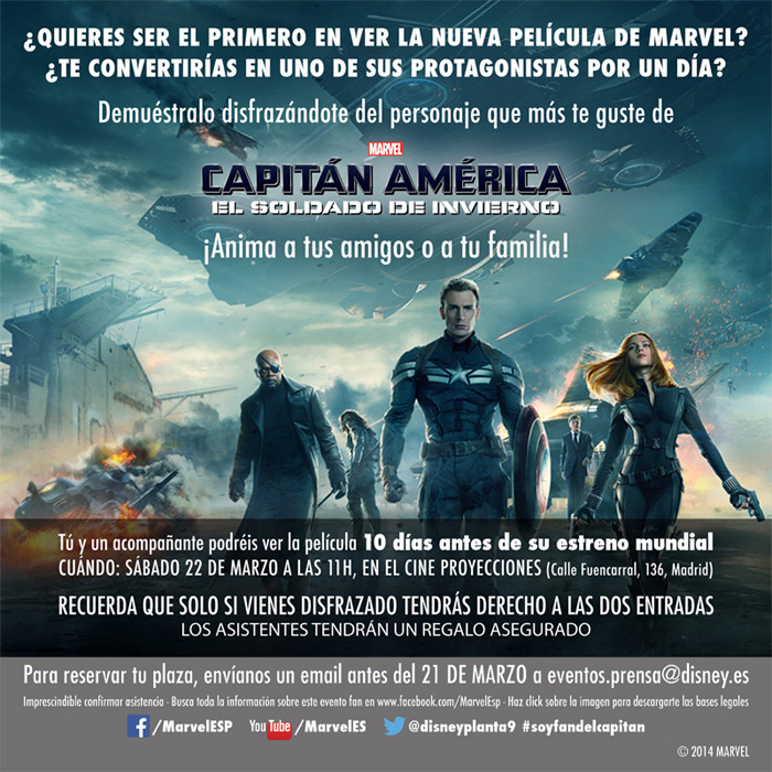 Evento Capitán América