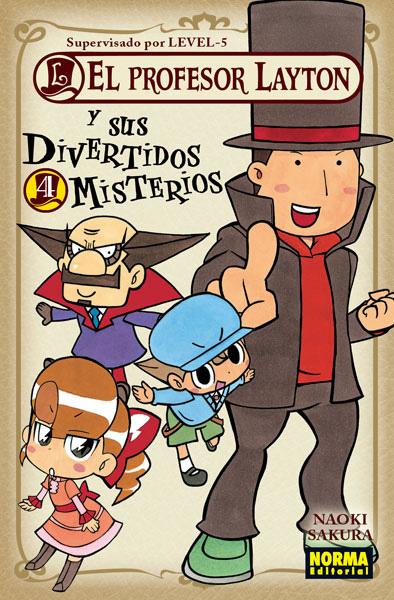 El profesor Layton y sus divertidos misterios 4