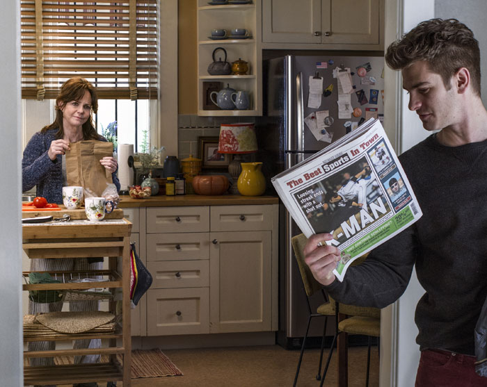 Peter Parker y Tía May