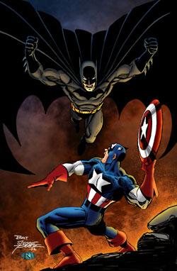 Batman y Capitán América
