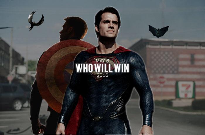 Capitán América vs. Batman vs. Superman