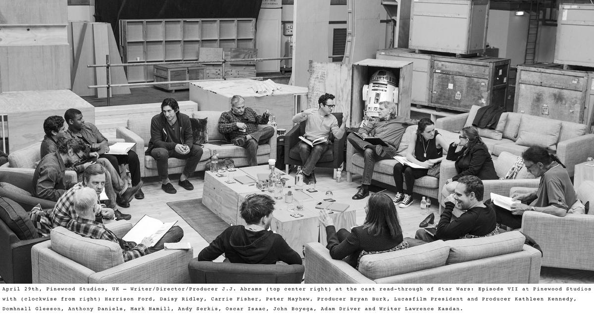 Star Wars VII - reparto