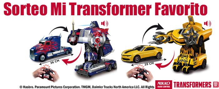 Concurso Transformers