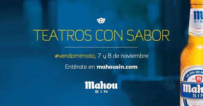 Mahou Sin - Teatros con Sabor