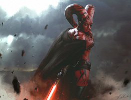 Sith Girl, obra de daRoz