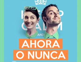 Póster De La Comedia Española Ahora O Nunca 2015