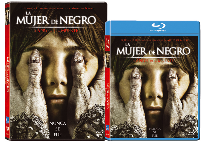 Ediciones DVD y BluRay de La mujer de negro