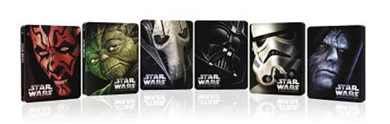 Star Wars - Edición limitada en caja metálica Blu-Ray