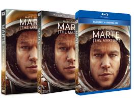 Marte - Ediciones DVD, Blu-ray, Blu-ray 3D y Edición Metálica