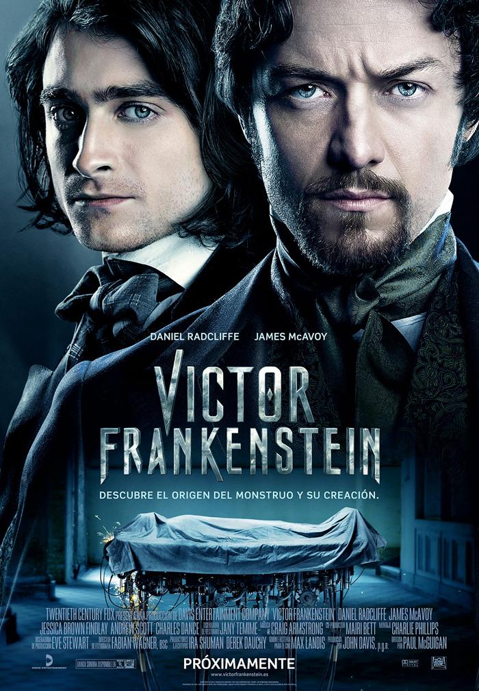 Víctor Frankenstein, todo lo publicado sobre el nuevo monstruo