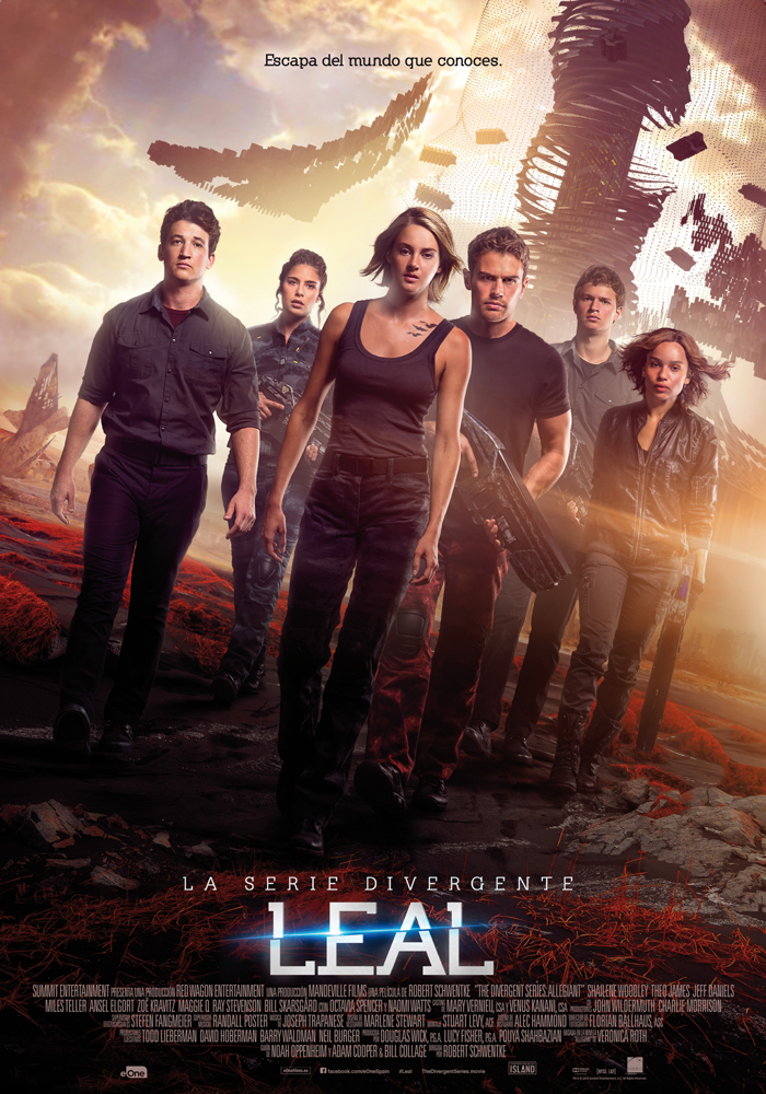 Cartel oficial de Leal (Divergente 3)