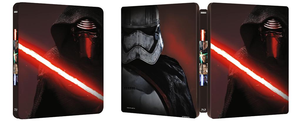 Star Wars El Despertar de la Fuerza Steelbook