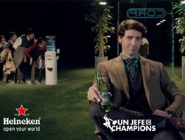 Un jefe de Champions, por Heineken