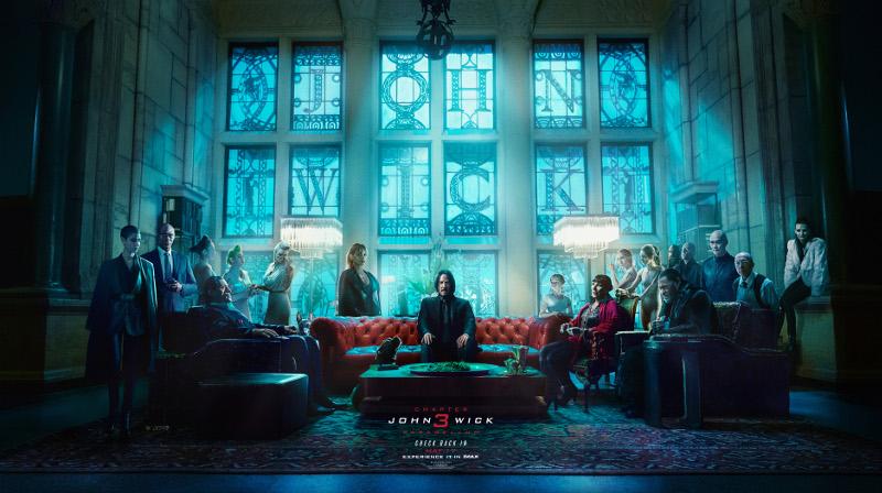 John Wick 3 Parabellum Nuevo Trailer Y Un Creativo Cartel